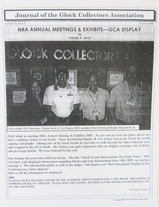 Journal of Glock Collectors Association Volume 11, Issue 3