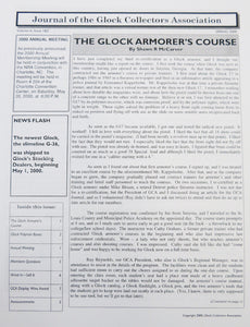 Journal of Glock Collectors Association Volume 6, Issue 1 & 2 reprint