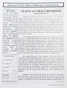 Journal of Glock Collectors Association Volume 7, Issue 1 reprint