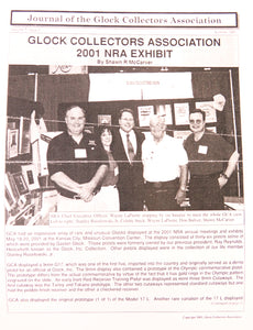 Journal of Glock Collectors Association Volume 7, Issue 3 reprint