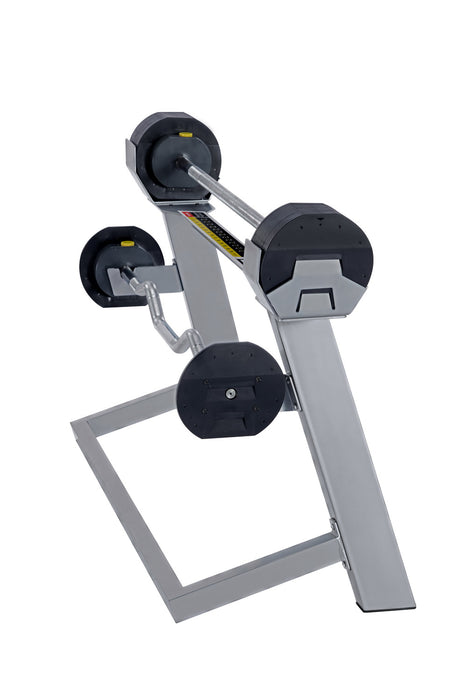 MX80 Select Adjustable Barbell Set with Stand