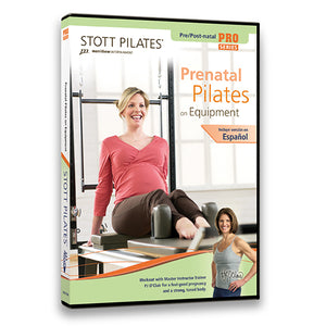 Prenatal Pilates on Equipment DVD