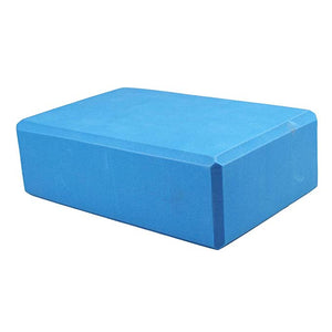 Yoga Block, 4x6x9 inch (Blue)