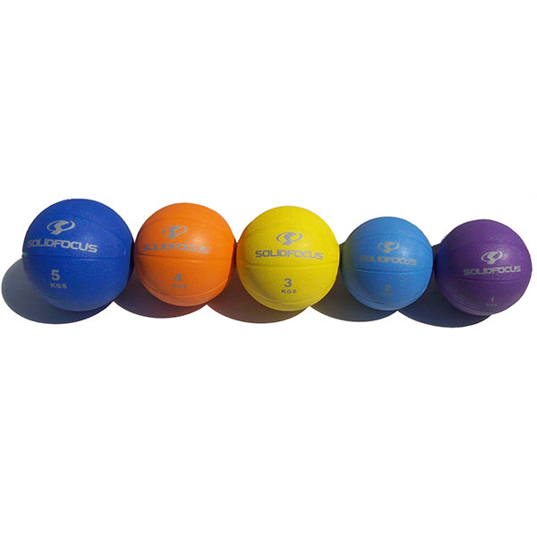 1kg Medicine Ball - Round - Purple