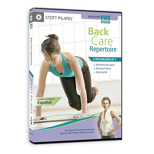 Back Care Repertoire DVD