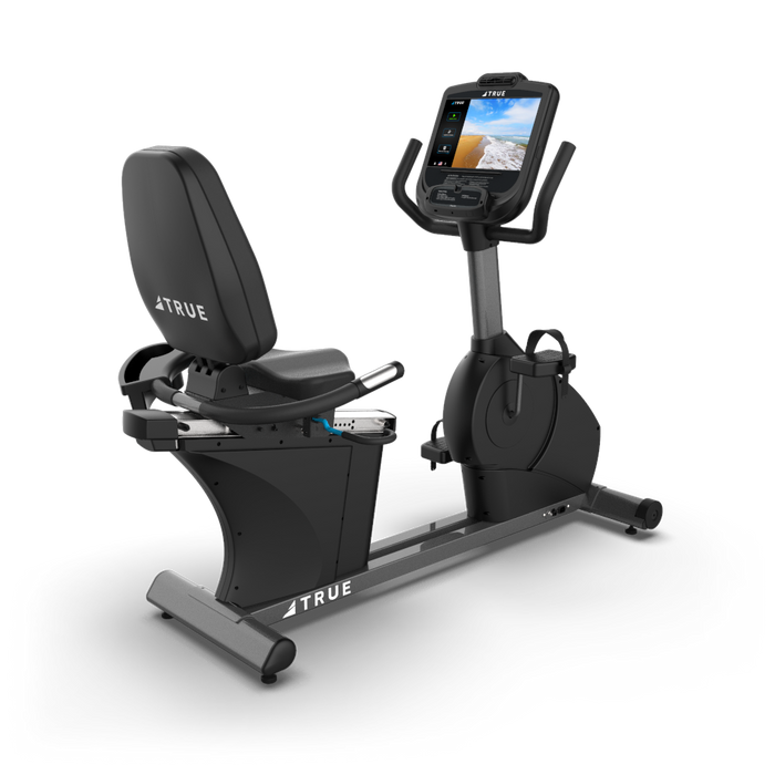 "True Fitness C400 Recumbent bike with 9"" Touch Screen console"
