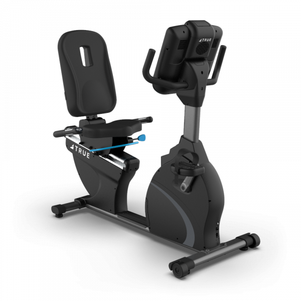 "True Fitness C900 Recumbent bike with 16"" Touch Screen console"