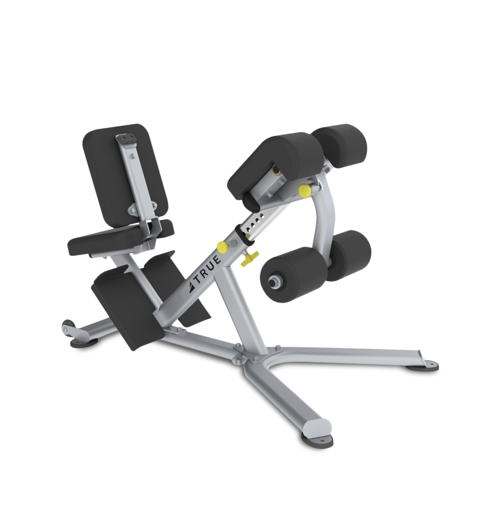 True Fitness Line Low Back/Abdominal Bench