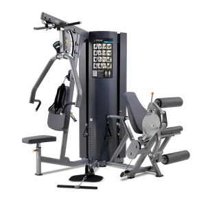 True Fitness Multi-station MP2.0 - 2 Stack, 3 Stations - Upper Body, Leg Ext/Curl, Low Swivel Pulley