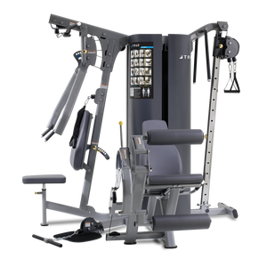 True Fitness Multi-station MP3.0 - 3 Stack/4 Stations-Upper Body, Leg Ext/Curl, Low Pulley, Cable Pull