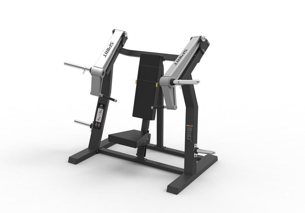 Spirit Fitness Plate Loaded Incline Chest Press