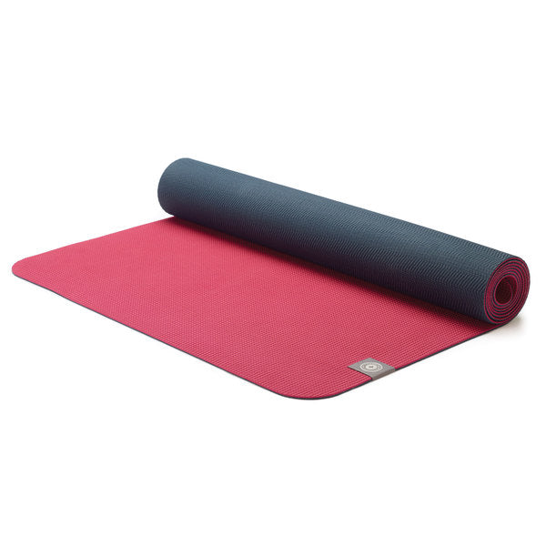 Eco Yoga Mat Maroon Charcoal Leisure Concepts Australia Pilates Strength And Cardio From The World S Leading Brands