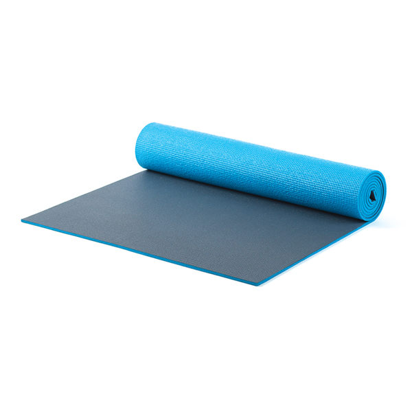 Pilates & Yoga Mat XL - Blue/Gray