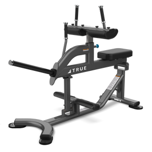 True Fitness XFW Seated Calf Charcoal