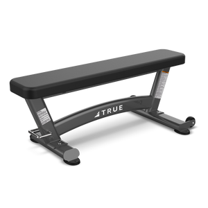 True Fitness XFW Flat Bench Charcoal