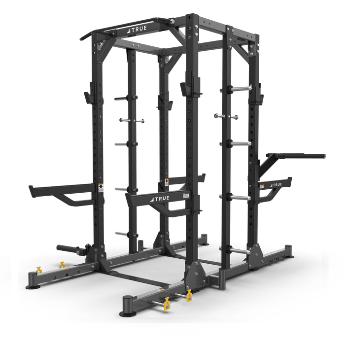 True Fitness XFW Dual Sided Half Rack Charcoal
