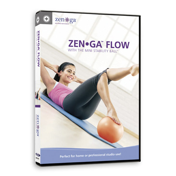 ZEN-GA FLOW with the Mini Stability Ball