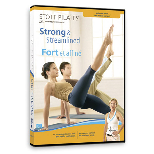 Strong & Streamlined DVD