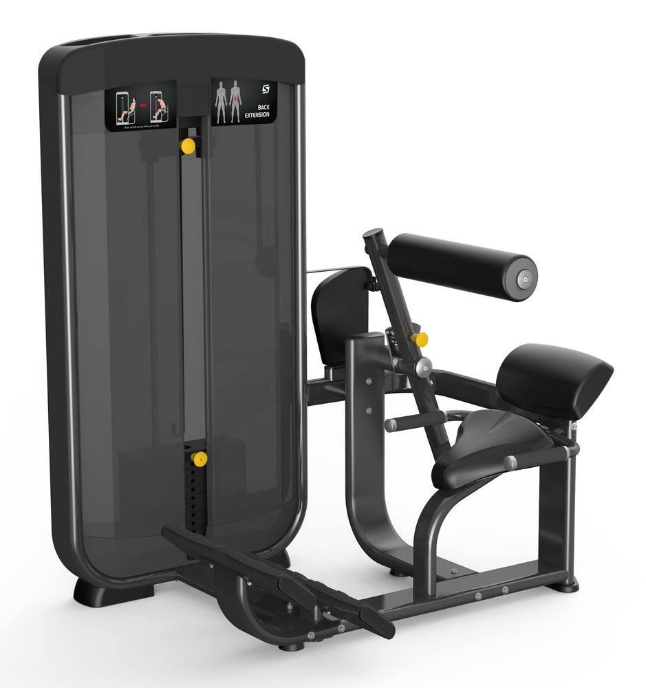 Spirit Fitness Selectorized Back Extension