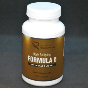 "Body Sculpting Formula ""5"" (Fat Burn"
