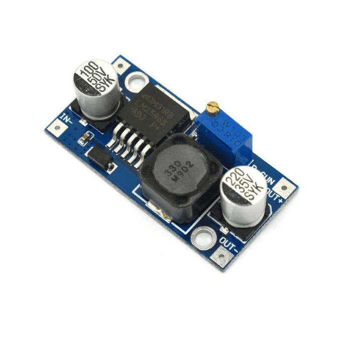 Regulador de voltaje Step-Down LM2596S 1.3v-35v - RoboTec