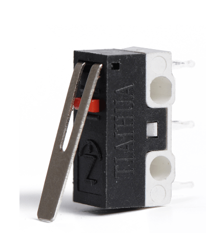 Micro switch con palanca mouse touch KW10-ZIP - RoboTec
