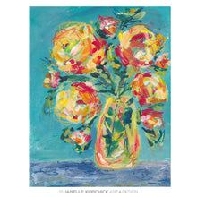 Load image into Gallery viewer, February Flowers #19 Original Floral Painting