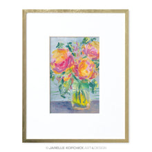 Load image into Gallery viewer, February Flowers #3 Original Floral Painting