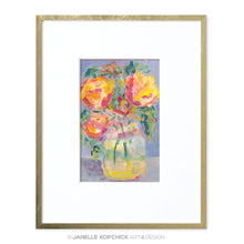 Load image into Gallery viewer, February Flowers #8 Original Floral Painting