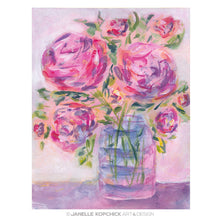 Load image into Gallery viewer, February Flowers 2021 #14 Original Floral Painting