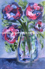 Load image into Gallery viewer, February Flowers #22 Original Floral Painting