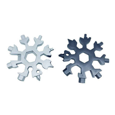 Stress free fex™ 18-IN-1 stainless steel snowflake multicool