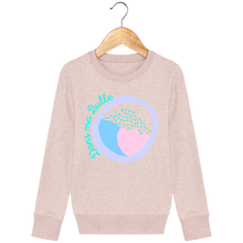 Load image into Gallery viewer, Dans ma bulle imprimé - Le sweat-shirt col rond - Mini Changer