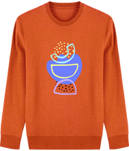 Load image into Gallery viewer, Totem punchy imprimé - Le sweat-shirt col rond – Changer
