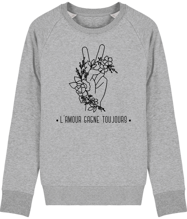 Sweat Bio Homme L'amour gagne toujours