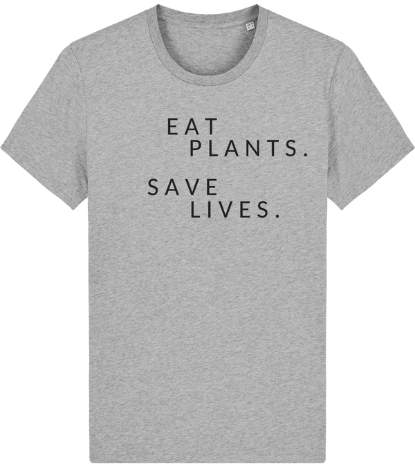 T-Shirt Bio Unisex Eat plants save lives