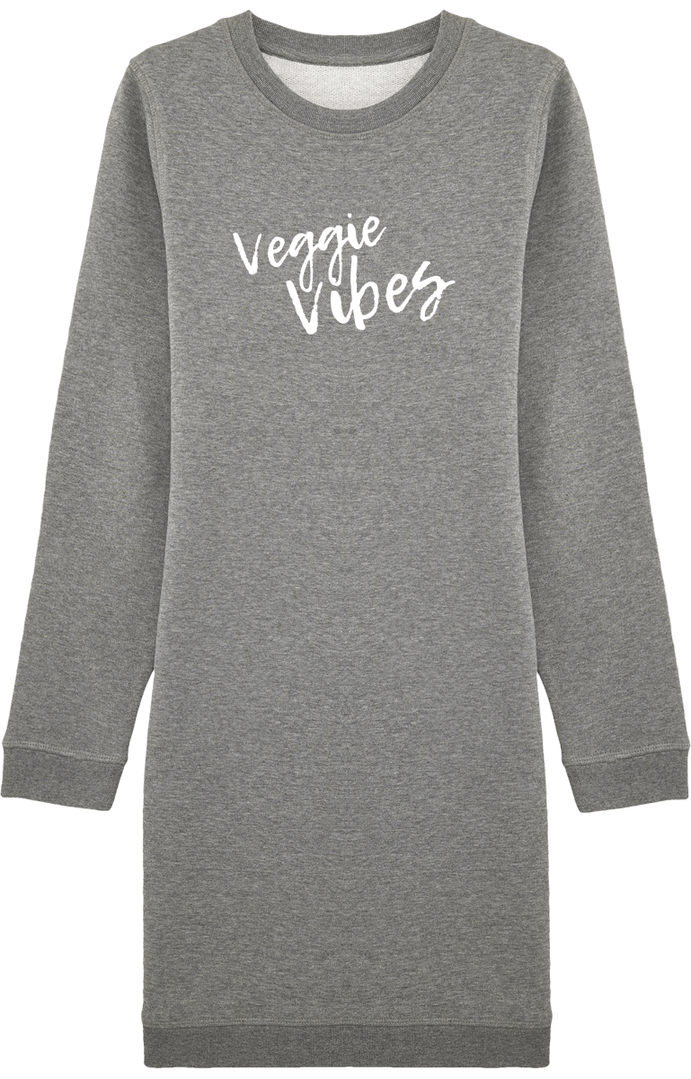"Robe Sweat-Shirt ""Veggie Vibes"""