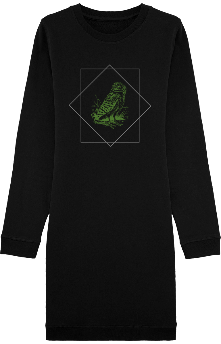 "Robe Sweat-Shirt ""Forest"" chouette"
