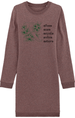 Robe Sweat-Shirt à Col Rond 5R - Colibris Shop