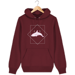 Sweat-shirt à capuche Protect ocean Orque - Colibris Shop