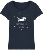 T-shirt Bio Unicorns are vegan