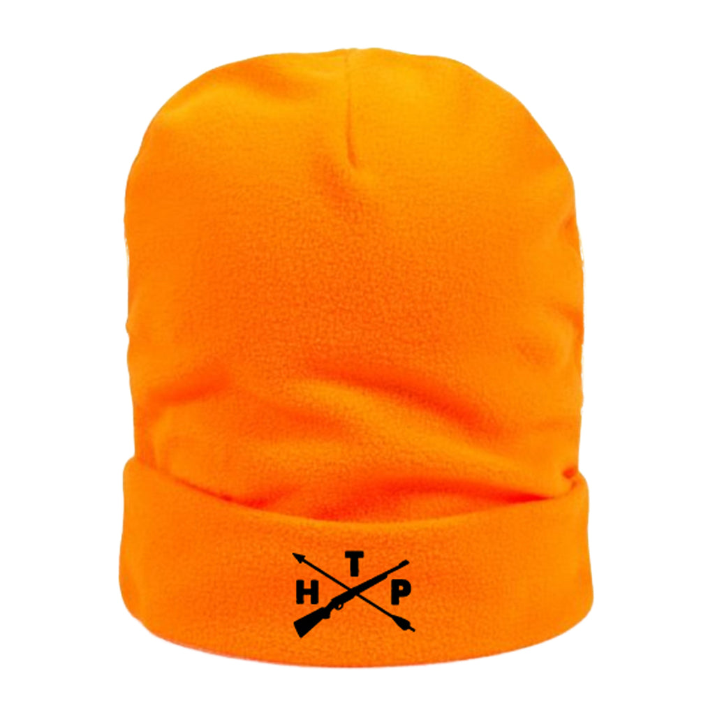 Blaze Orange Hunting Public Beanie