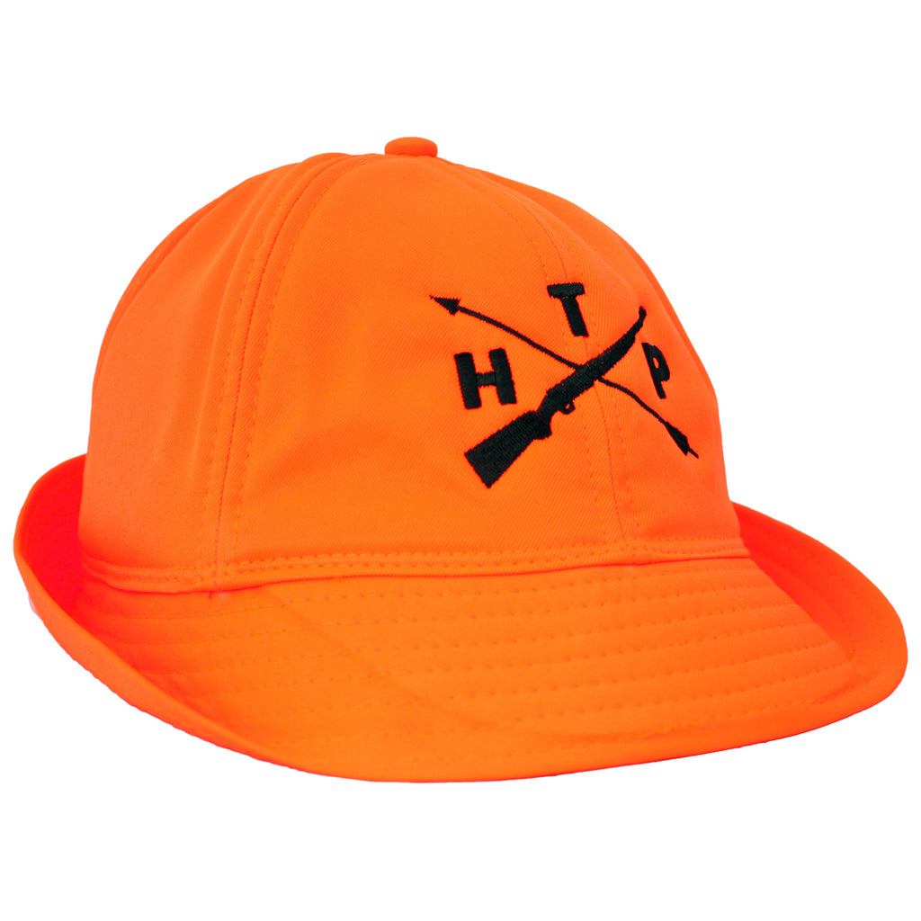 Blaze Orange Flap Hat