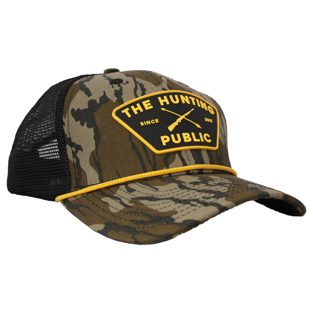 Bottomland THP Rope Hat- Bent Brim
