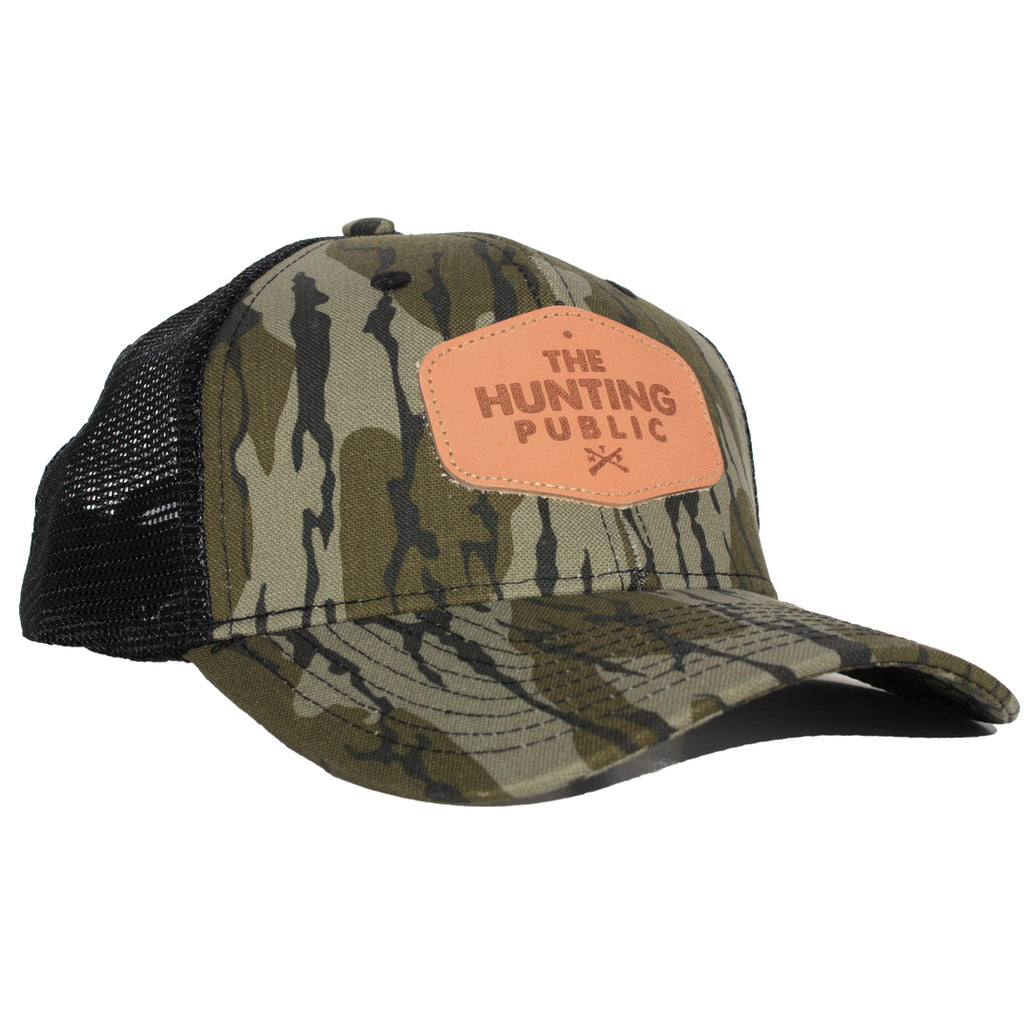 Bottomland Leather Patch Hat- Bent Brim