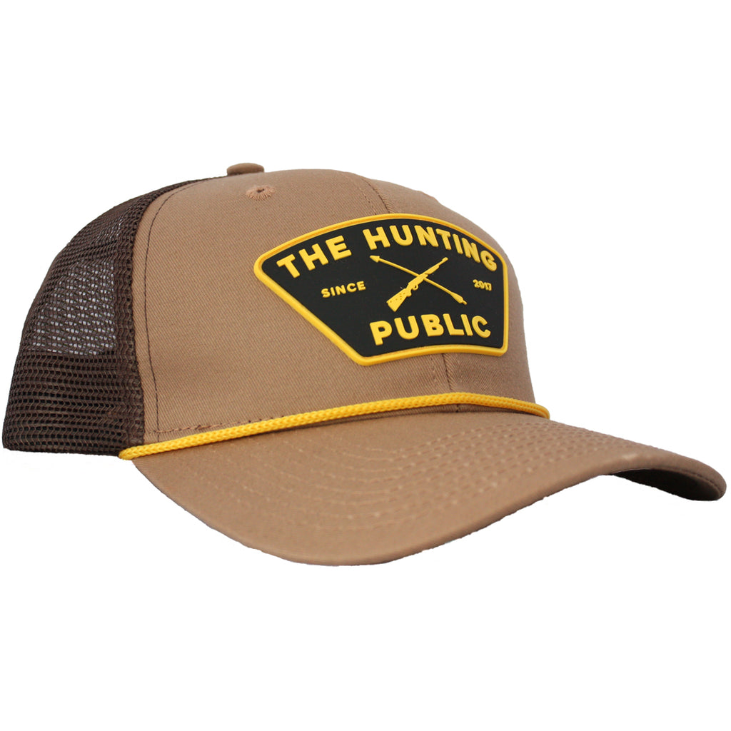 Brown THP Rope Hat- Bent Brim
