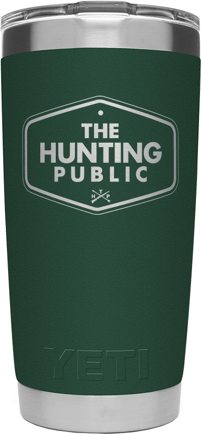 THP Yeti 20 oz. Tumbler - Forest Green