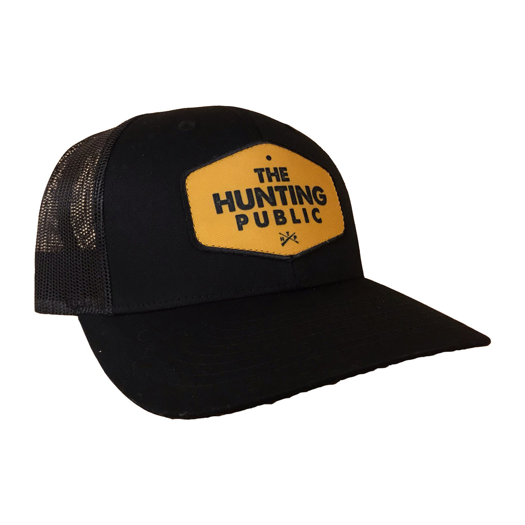 THP Black Patch Hat