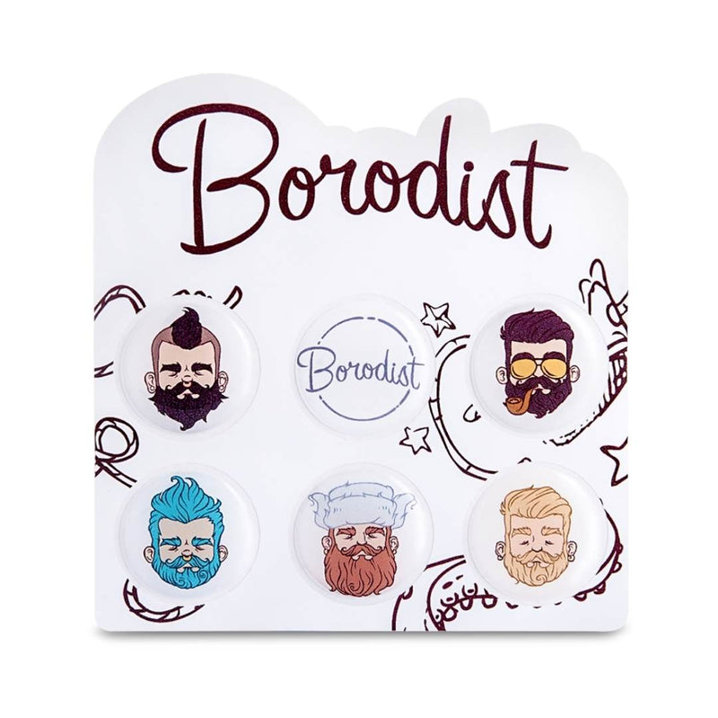 Mini stickers - Borodist - Soins barbe homme