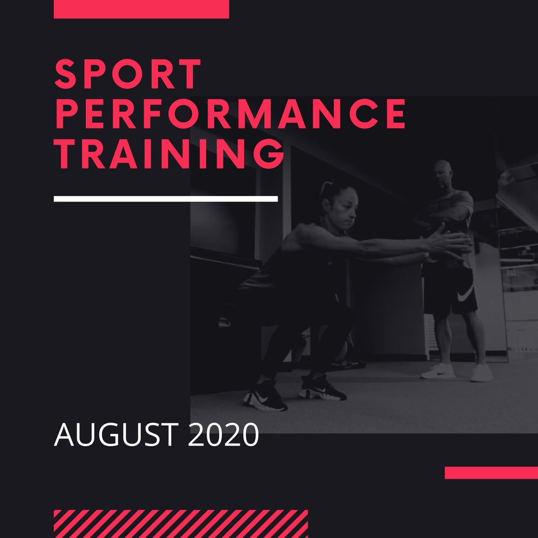 1 Month - Sport Performance Group Training (2 Sessions/Week)